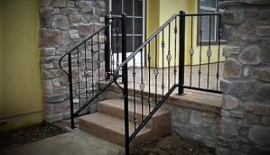 Exterior Metal Handrail