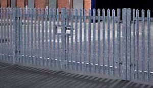 Second Metal Fence