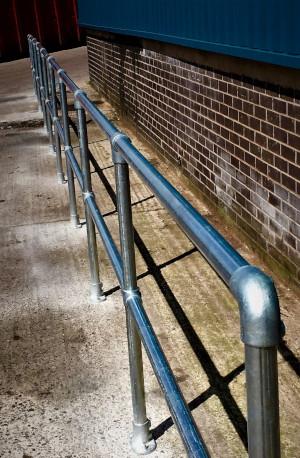 Vertically Aligned Handrail